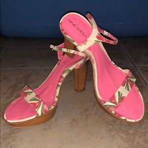 Nine West heel sandal
